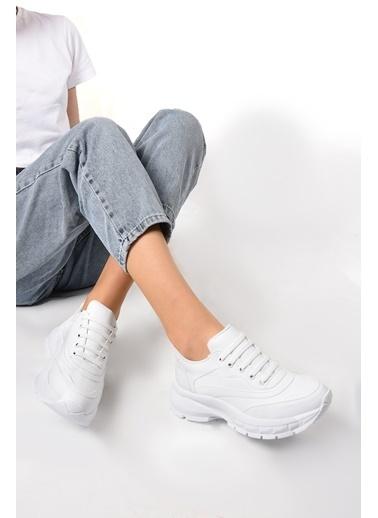 Sapin Sneakers Beyaz